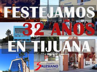 32 ANIVERSARIO DE PROYECTO SALESIANO TIJUANA