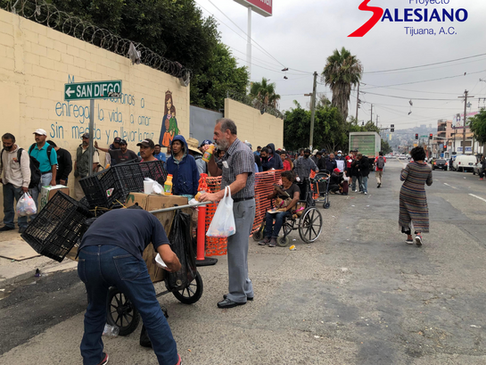 ¿Qué sería del Proyecto Salesiano Tijuana A.C. si no se entrega a los más necesitados?