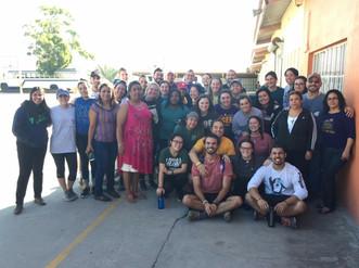"""Voluntarios de Estados Unidos colaboran en el Comedor """"Padre Chava"""""""