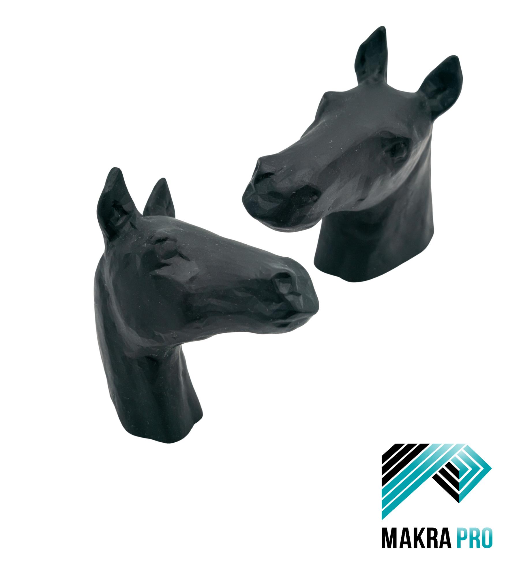 Pferdekopf 3D-Druck Makra Pro