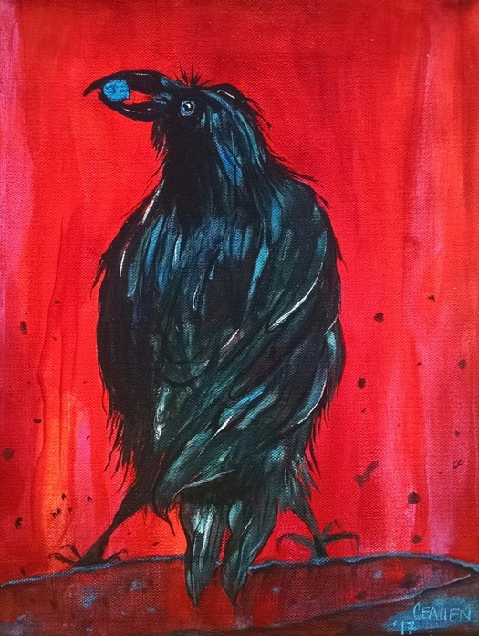 Sacred Stone Crow 1