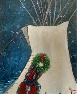 Prairie Christmas  Eve
