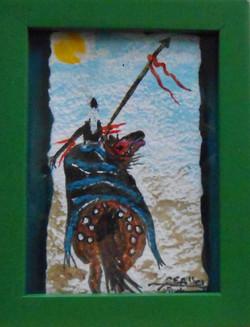 Nez Pierce Warrior Pa
