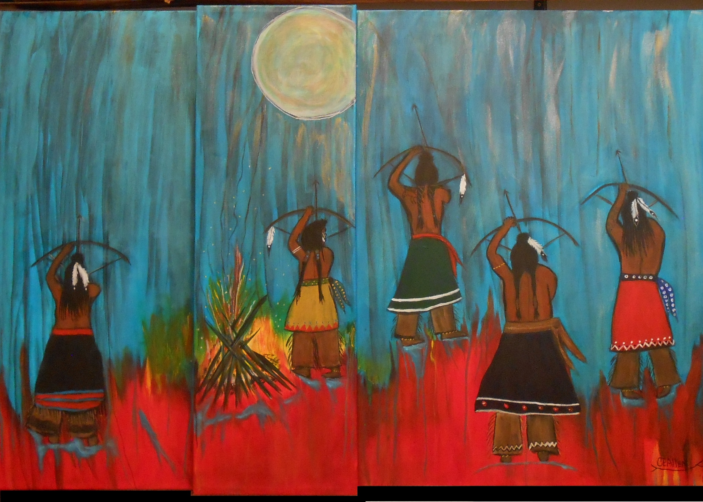 Wolf Moon Victory Dance