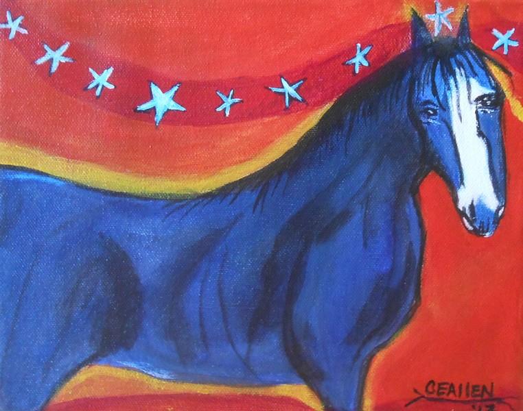 Blue Horse Dream