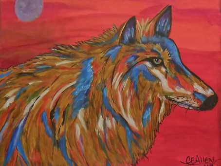 """Red Lodge Montana upcoming show """"Art in The Beartooths"""" See my painting in the silent auction."""