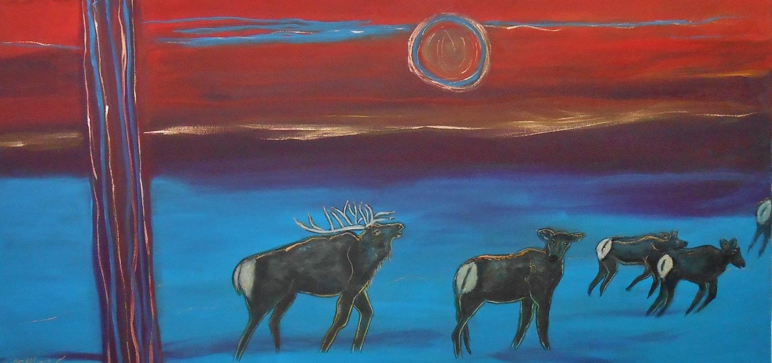 Moonlit Migration