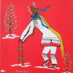 Taos Pueblo Christmas Eve Deer Dance