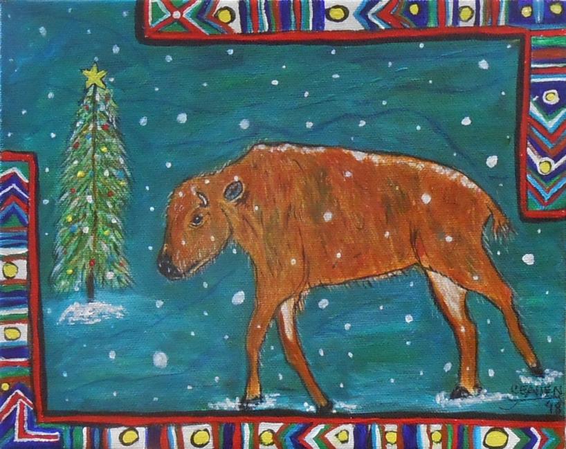 Baby Bison's Christmas Magic