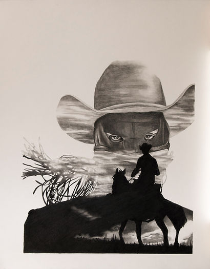 Orville Peck Drawing