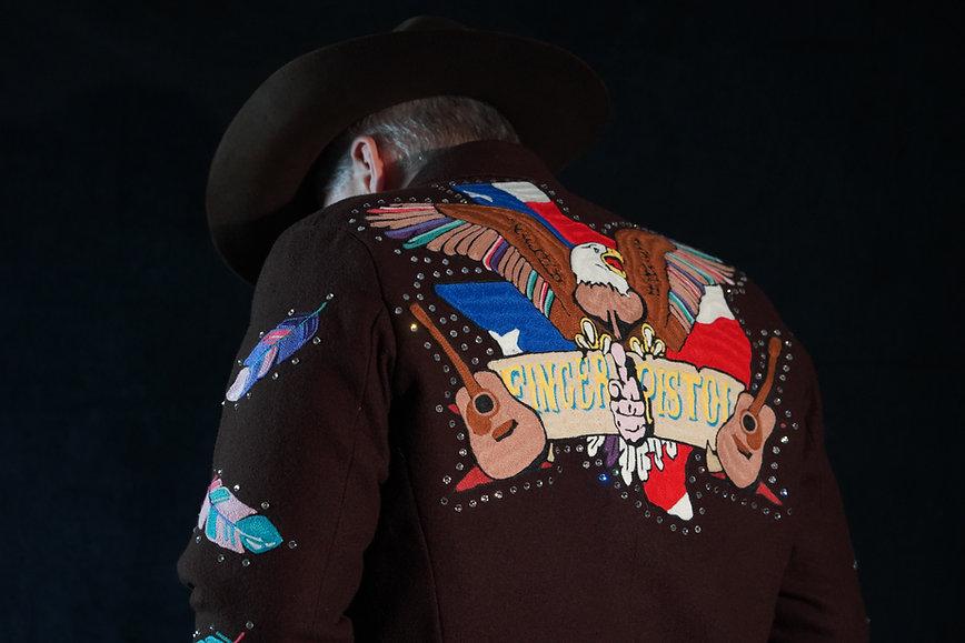 FingerPistol Jacket Back