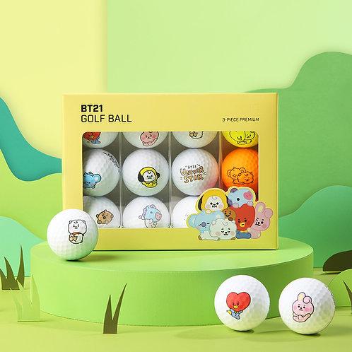 BT21 BABY_Golf Ball Matte Dozen