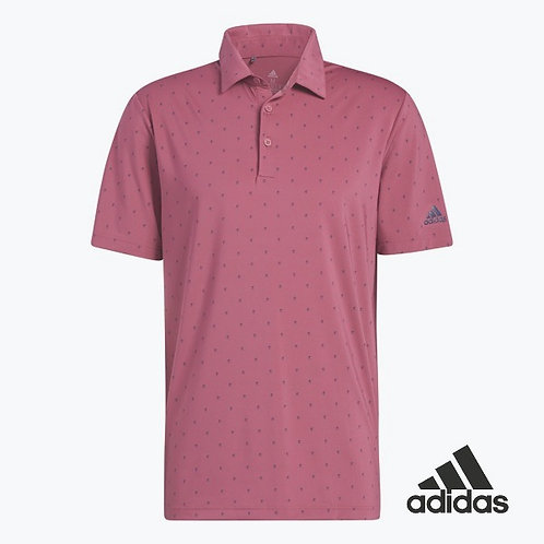 ULT365 PRINT POLO WILD PINK