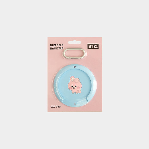 BT21 BABY_Golf Name Tag_COOKY