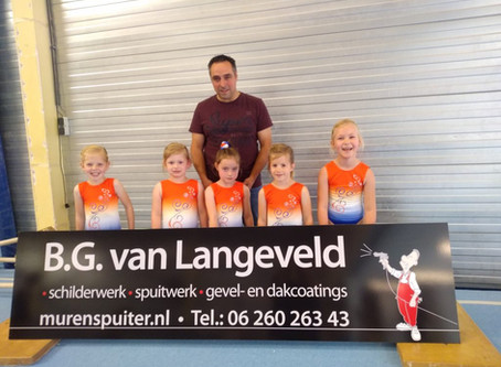 Nieuwe Sponsor BG van Langeveld