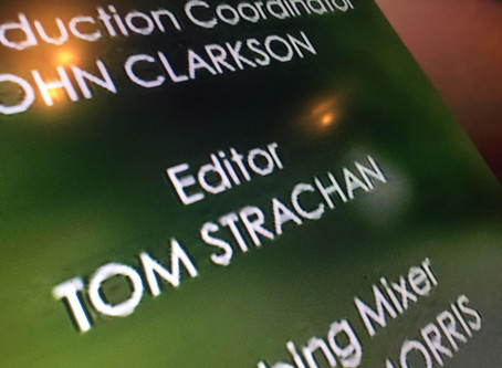 Finally an Editor credit on TV!