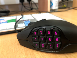 Editing with a gaming mouse