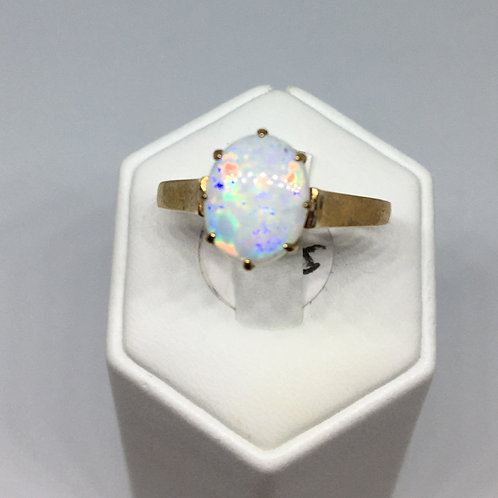 9ct Gold Opal Ring