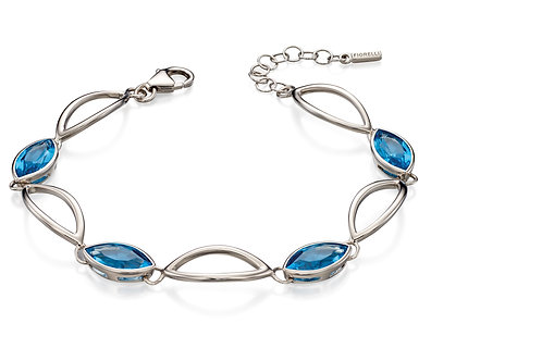 Fiorelli Silver and Crystal Bracelet