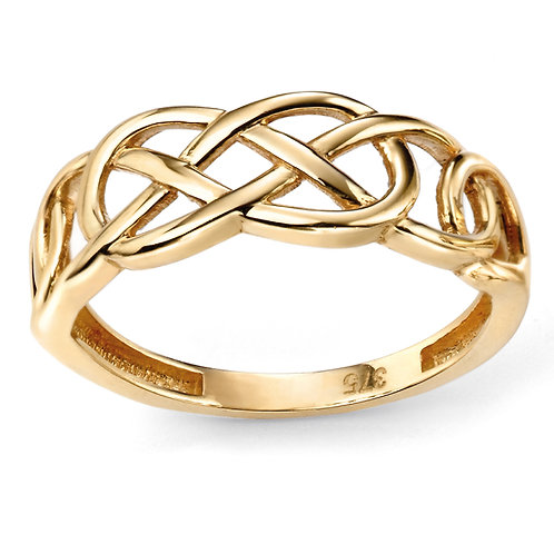 9ct Gold Celtic Ring