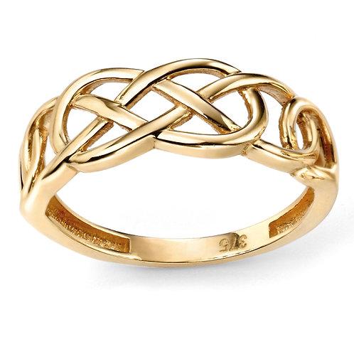 9ct Gold Celtic Ring