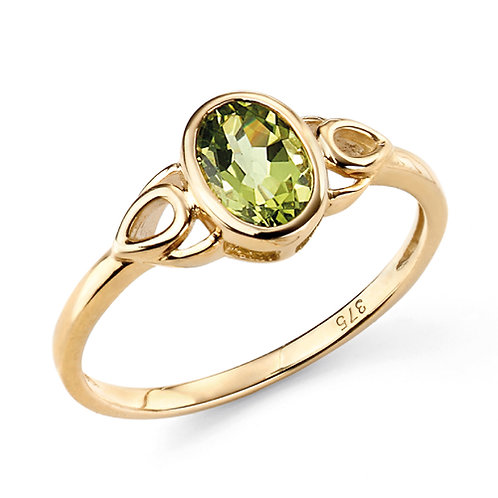 9ct Gold Peridot Ring
