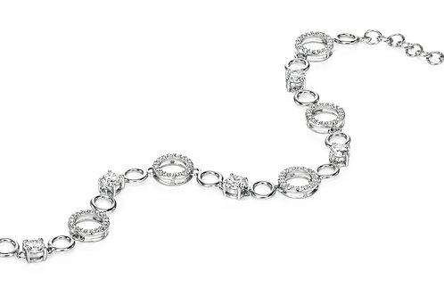 Fiorelli Silver with Cubic Zirconia Bracelet