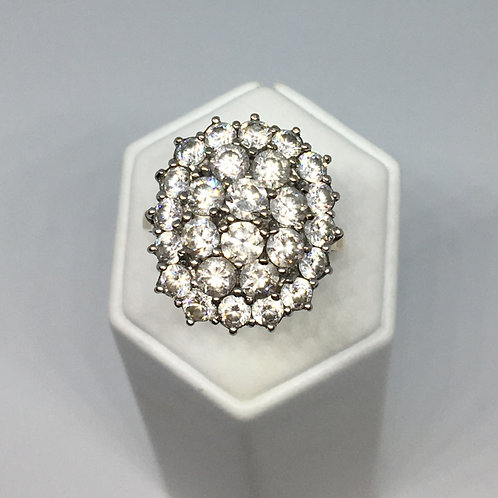 9ct Gold Cubic Zirconial Ring
