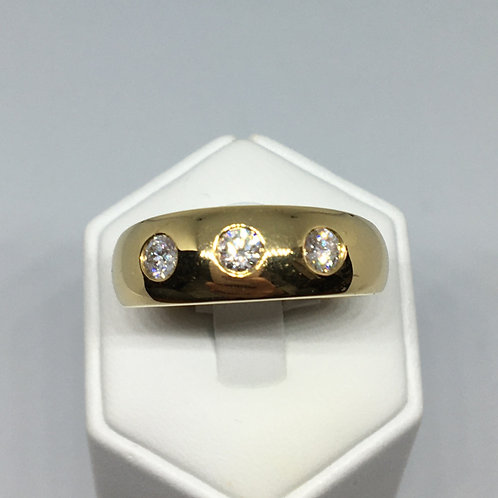 18ct Gold Diamond Ring