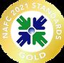 2021 NAFC Standards Seal Gold transparen