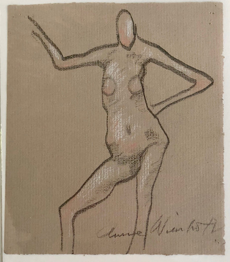 small nude with color