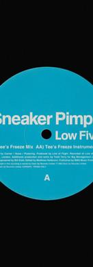 Sneaker Pimps Low Five 12'' Single 3 Art