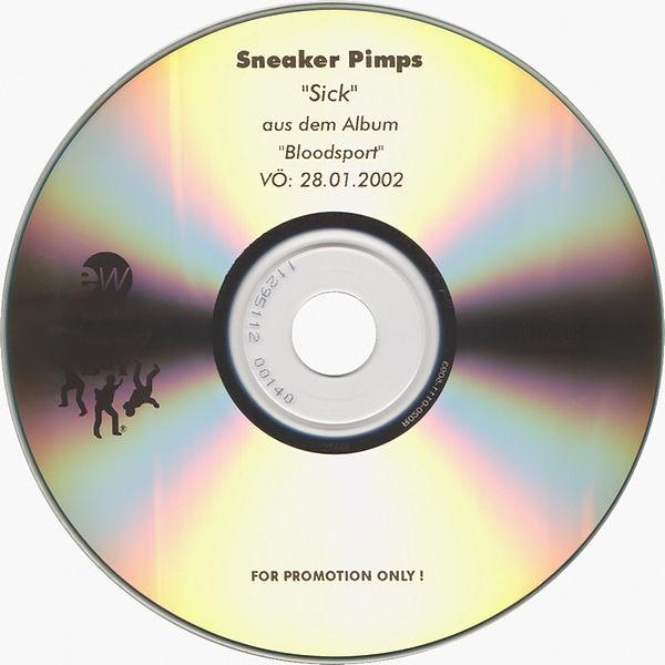 Sneaker Pimps Sick CD