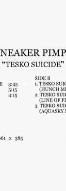 Sneaker Pimps Tesko Suicide Cassette Art