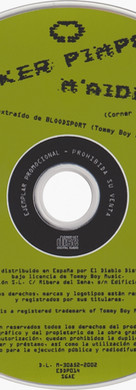 Sneaker Pimps M'aidez CD Single Art