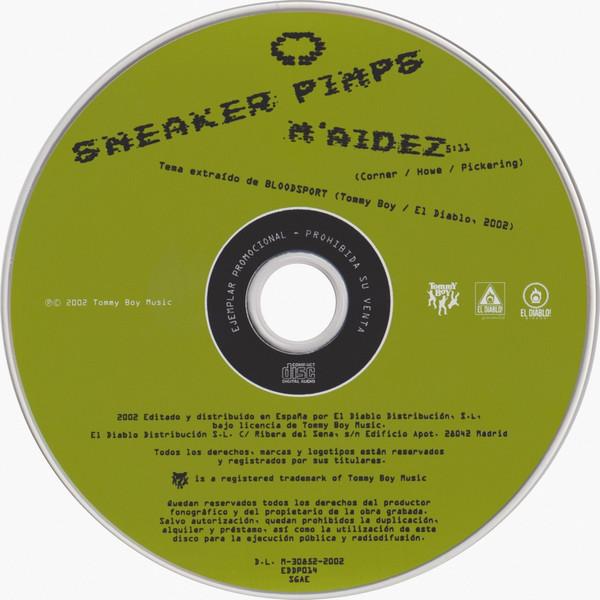 Sneaker Pimps M'aidez CD
