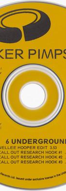 Sneaker Pimps Six Underground Promo CD Single Art