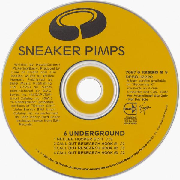 Sneaker Pimps Six Underground CD Single