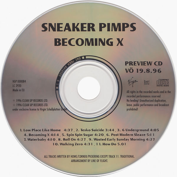 Sneaker Pimps Becoming X Sampler