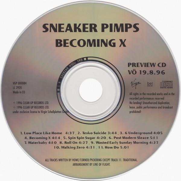 Sneaker Pimps Becoming X Sampler