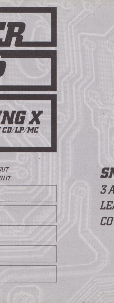 Sneaker Pimps Becoming X Postcard