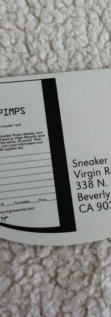 Sneaker Pimps Sticker