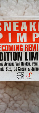 Sneaker Pimps Becoming RemiXed French CD