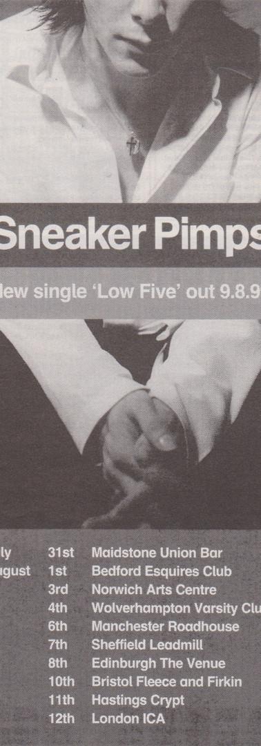 Sneaker Pimps Low Five Advert