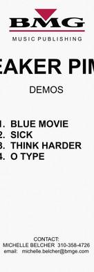 Sneaker Pimps Bloodsport Demos Volume 1 Art