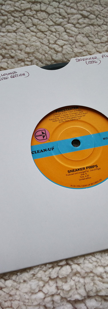 Sneaker Pimps Firestarter 7'' Single