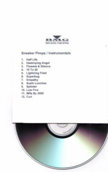 Splinter Instrumentals CDr