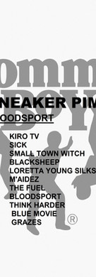 Sneaker Pimps Bloodsport Advance Art