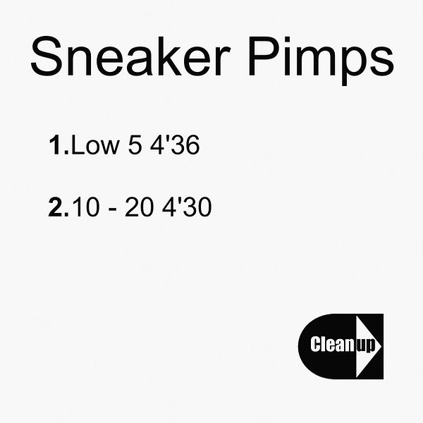 Sneaker Pimps Low Five Promotional CDr 2
