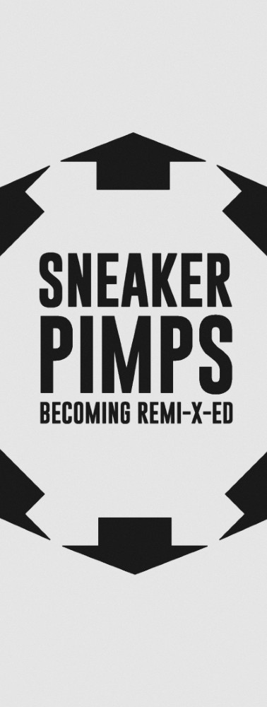 Sneaker Pimps Becoming RemiXed French LP Art
